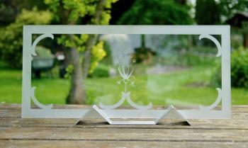 Glas stralen en verlijming